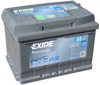 Exide Premium EA612 61Ah
